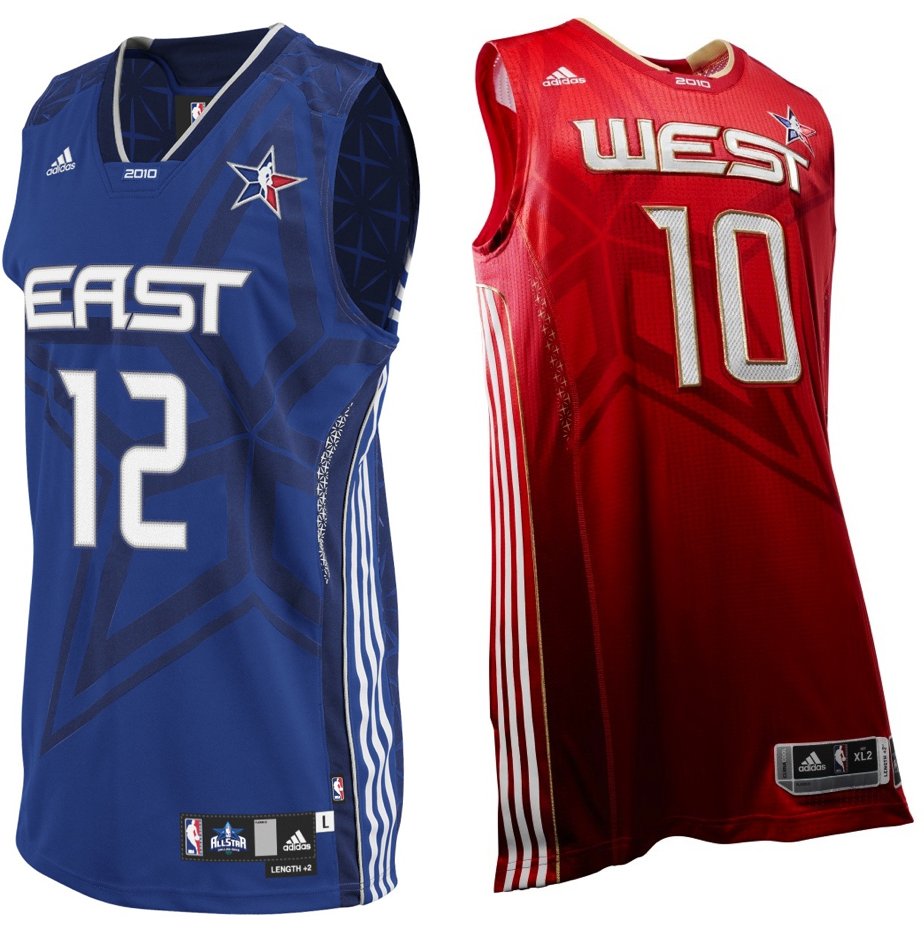 0fd6d7909c3e NBA All-Star Game -- a sneak peek at the brand-new uniforms ...