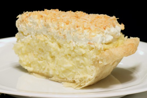 coconut cream pie for the lactose-tolerant