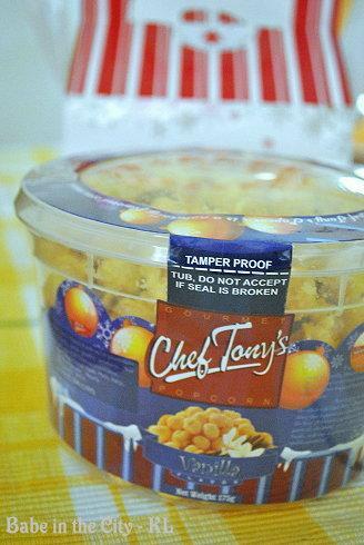 Chef Tony's Popcorn