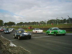 Tour Britannia 2007 E-type and Porsche 911s lead the handicap (74Mex) Tags: tour 911 porsche hatch brands 2007 britannia etype