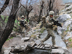 Unit visit to the Angal Kala village in Afghanistan (The U.S. Army) Tags: afghanistan infantry soldier village troops isaf angalkala