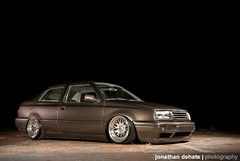 Kayla Colbert's VW Mk3 Jetta Coupe (Jonathan_DeHate) Tags: color abandoned canon ian paul photography factory jonathan bees c air duty alien sean strip subaru buff 5d jetta heavy kayla coupe f28 colbert stands vr6 mk3 2470mm triggers ab800 recievers dehate cybersync landregan kosiek