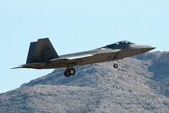 F-22 at Nellis Air Force Base,Las Vegas 03Feb10 (Pervez 183A) Tags: lasvegas raptor f22 stealthfighter nellisnellisafb