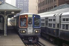 19860314 10 CTA Loop L LaSalle & Van Buren (davidwilson1949) Tags: chicago illinois cta transit rapidtransit