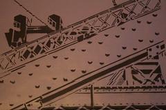 W.' Bridge. (The Dude Company) Tags: nyc bridge stencils brooklyn stencil williamsburg pochoir pochoirs thedudecompany