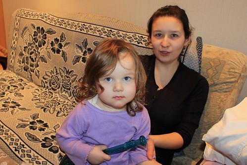 Anya and Zhanna