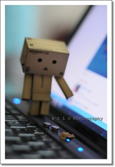 Oh no! (Eric Arianto) Tags: toy actionfigure 50mm nikon accident 50mm14 buy batteries d300 danbo firstencounter