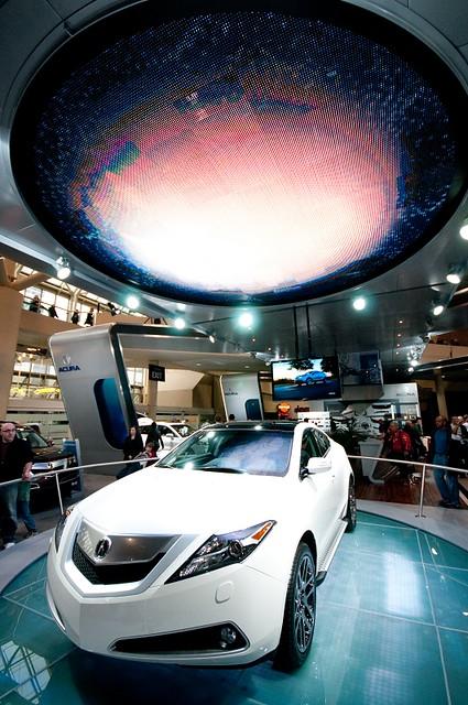 toronto sigma autoshow 1020mm acura rl 2010 d300