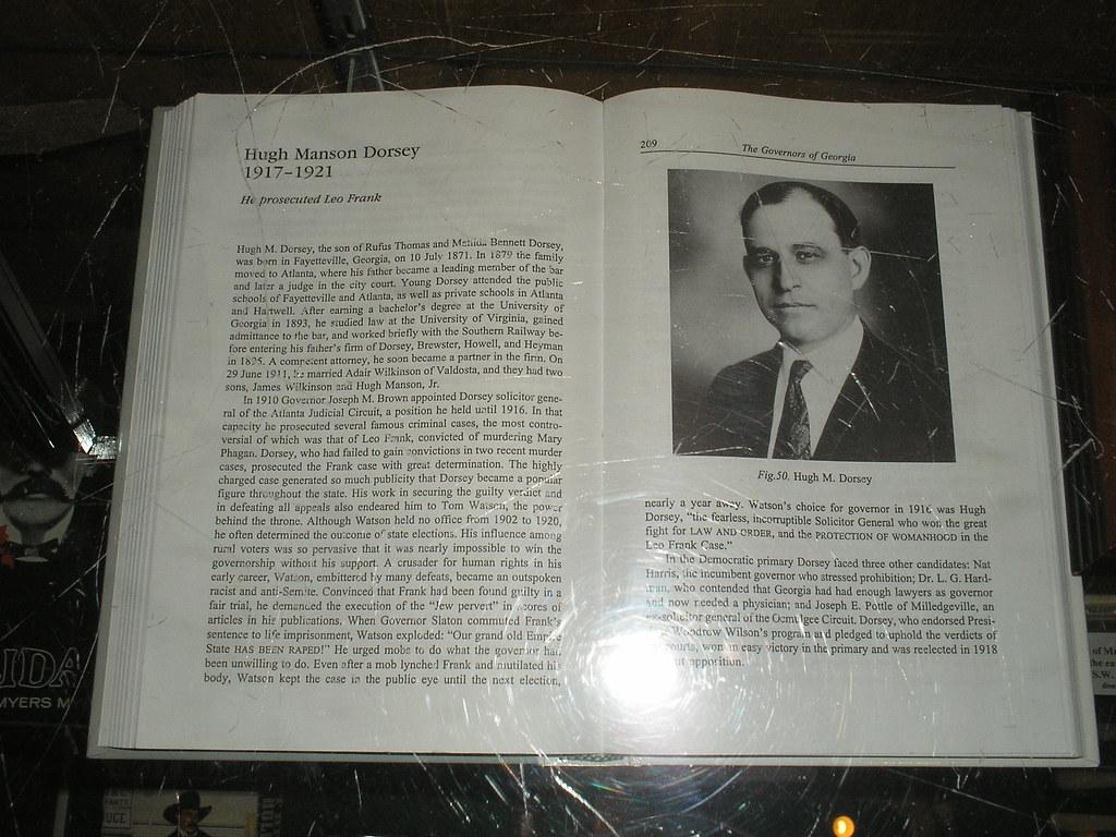 Eric Ollila: Hugh Manson Dorsey Photo 1
