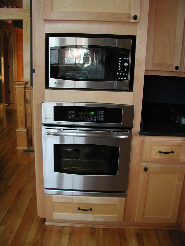 Microwave and Electric Wall Oven