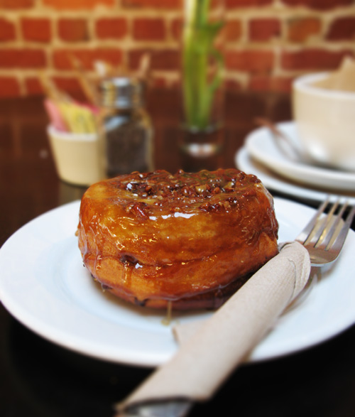 Thorough Bread and Pastry, sticky bun