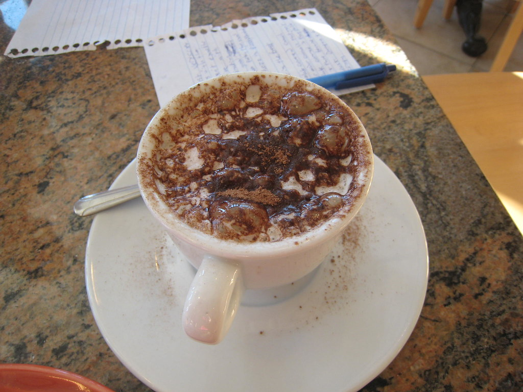 Cocoa Dusted Cappuccino
