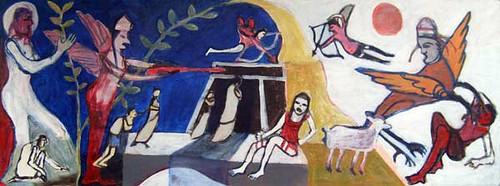Claddagh Shamrock Cross