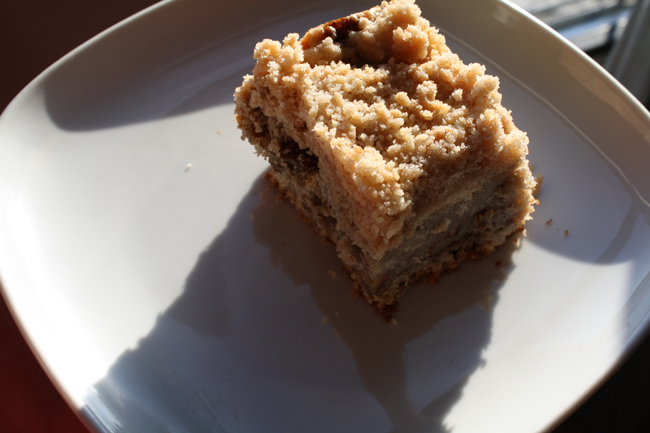 applesauce pecan cake