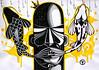 Palavras (. ♦ F L F ♦ .) Tags: fish art gold king strip arrow coroa rei carpa grafite anzol franciscofreitas