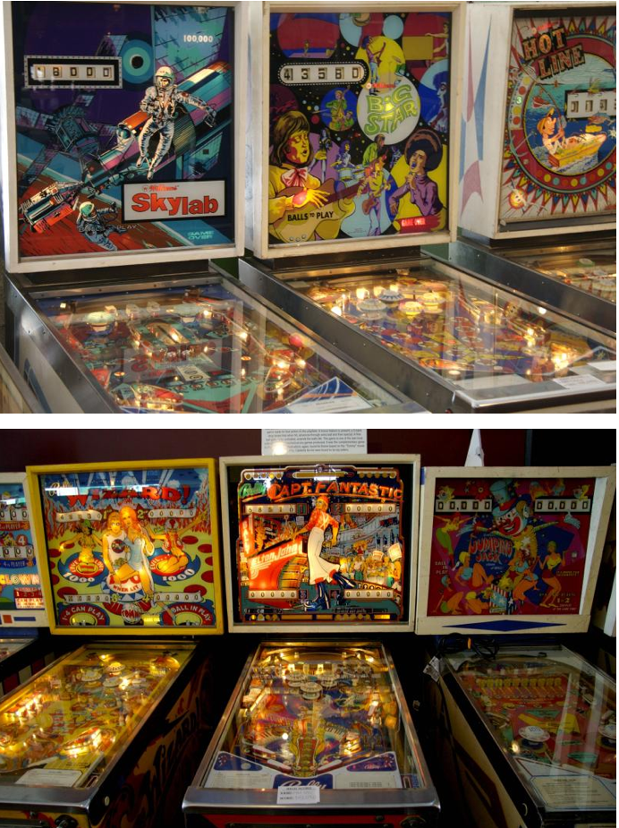 Pinball paradise is found in New Jersey