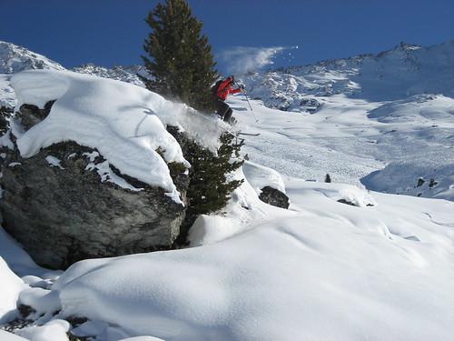 Boulder drop