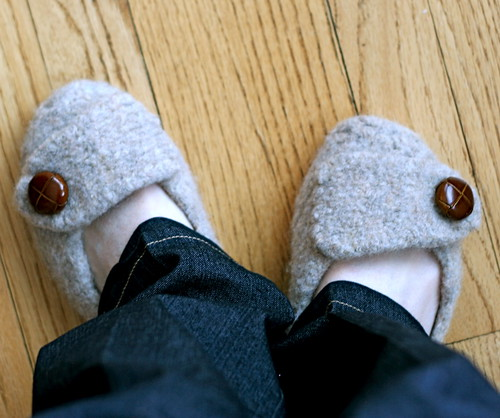 French Cafe Slippers