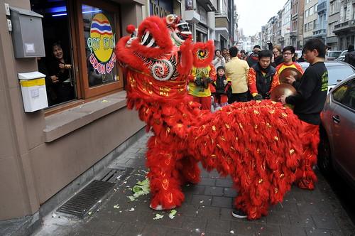 Chinees Nieuwjaar 4707 Antwerpen