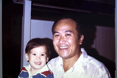 1980s, Michael and Grandpa