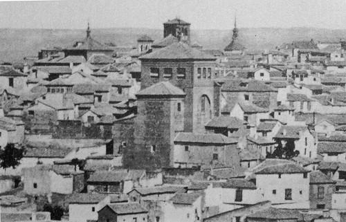 Iglesia de San Torcuato hacia 1860