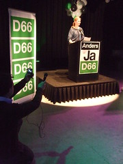 Ageeth Telleman (D66) spreekt (Comicbase) Tags: amsterdam campagne d66 ageethtelleman