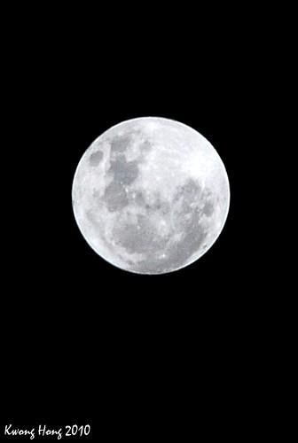 Full moon 皓月顶空