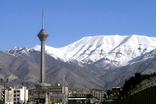 Tehran Early March Skyline _ 2