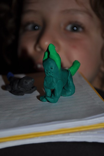 Plasticine Mouse and Cat