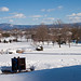 EMU campus after the big February snow storm.