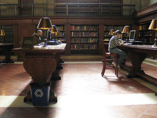 New York Public Library, Reference Desks