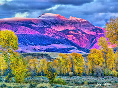 October's Sleeping Indian Mountain (Jerry T Patterson) Tags: mountains west nature western wyoming tetons coth tmba specialpicture anawesomeshot natureselegantshots rubyphotographer paololivornosfriends itswritteninthestars esenciadelanaturaleza