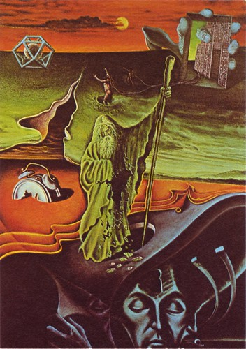 06 Cover illus. to German edition of the Strugatskys' Second Invasion of Mars, from the collection of Franz Rottensteiner