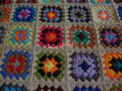 colcha em croch...pr quem no gostava est at bem feita.... (soniapatch) Tags: crochet croch mantaemcroch crochetabedspread blanketincrochet