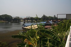River Kwai Bridge (Justin C Lenk) Tags: bridge river thailand kwai