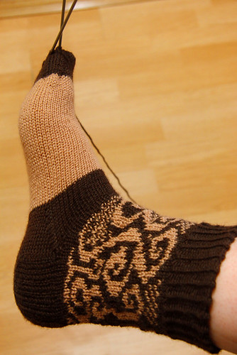 Swirlygirl socks