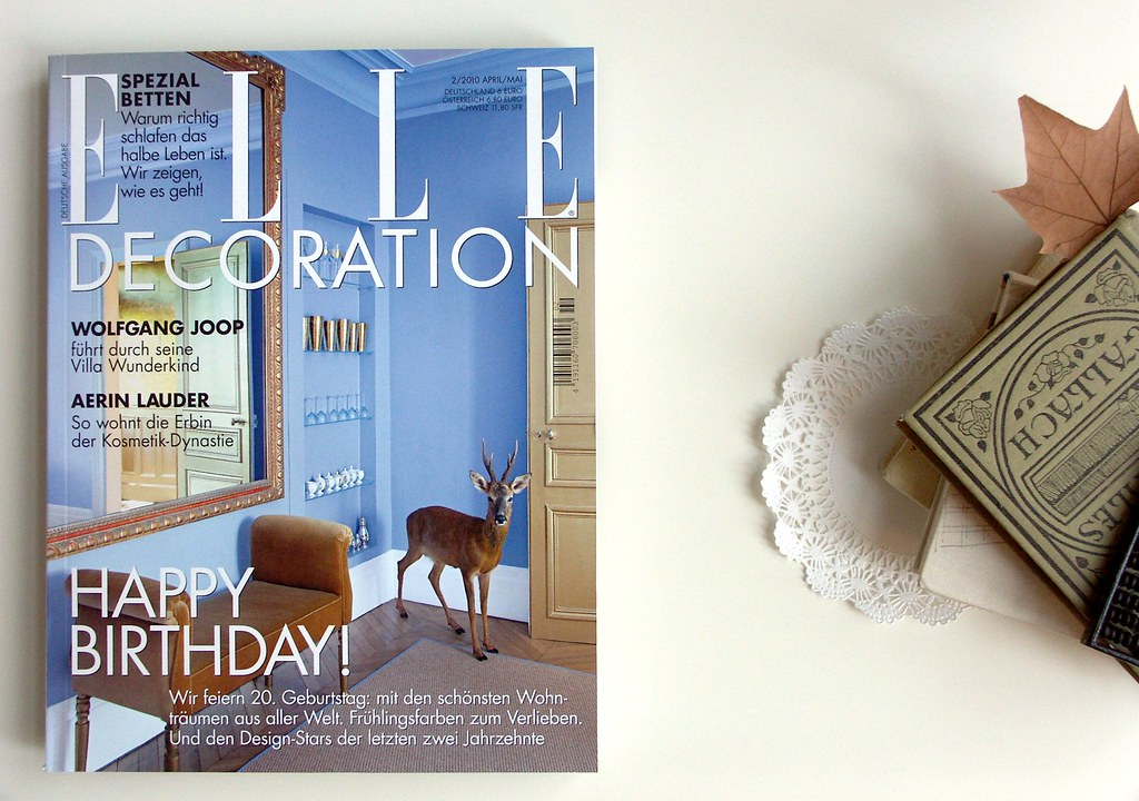 Elle Decoration . . .