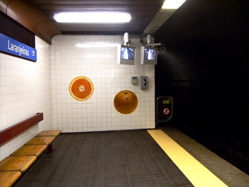 Metro de Lisboa: Estação Laranjeiras