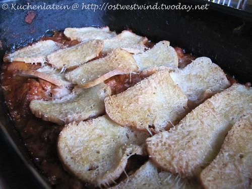 Italienischer Hähnchen & Birnenkürbis Pie 002