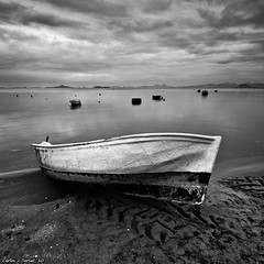 En tierra I (Carlos J. Teruel) Tags: espaa mar nikon paisaje explore murcia reflejo 2010 d300 tokina1116 xaviersam