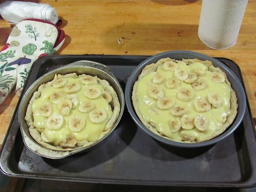 Banana Creme Pies