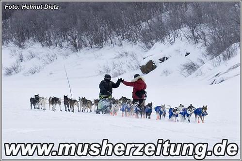 Musher - Begegnung beim Finnmarkslopet