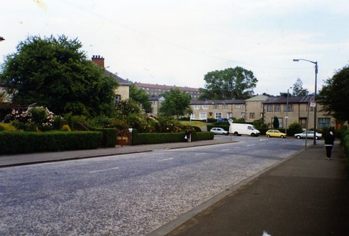 Warriston Street, Carntyne (Ruchazie Road End) 1994