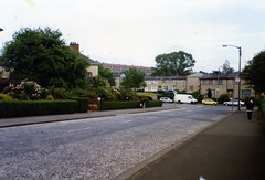 Image titled Warriston Street, Carntyne (Ruchazie Road End) 1994