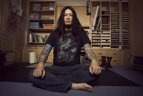 Horitomo-san began tattooing