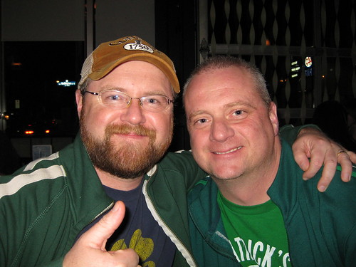 Me and Mic on St. Paddy's Day
