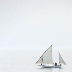 Esto es vivir!!! (Media_Mirada) Tags: mar barcos minimalism mallorca miradafavorita updatecollection