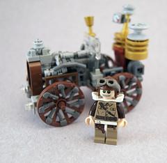 Worthington & Smith Steam-powered Automobile (Titolian) Tags: automobile punk lego smith steam steampunk worthington