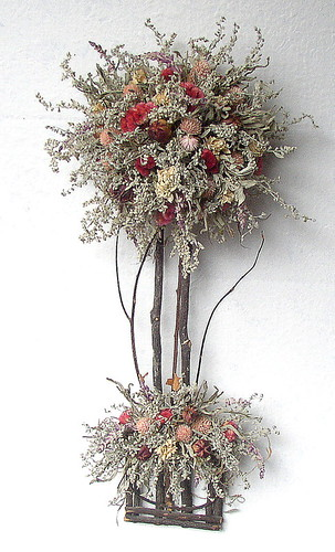 Dried Floral Topiary