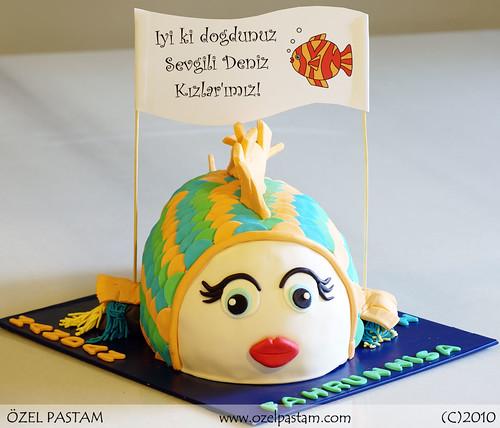 Turuncu Balık Pasta / Orange Fish Cake